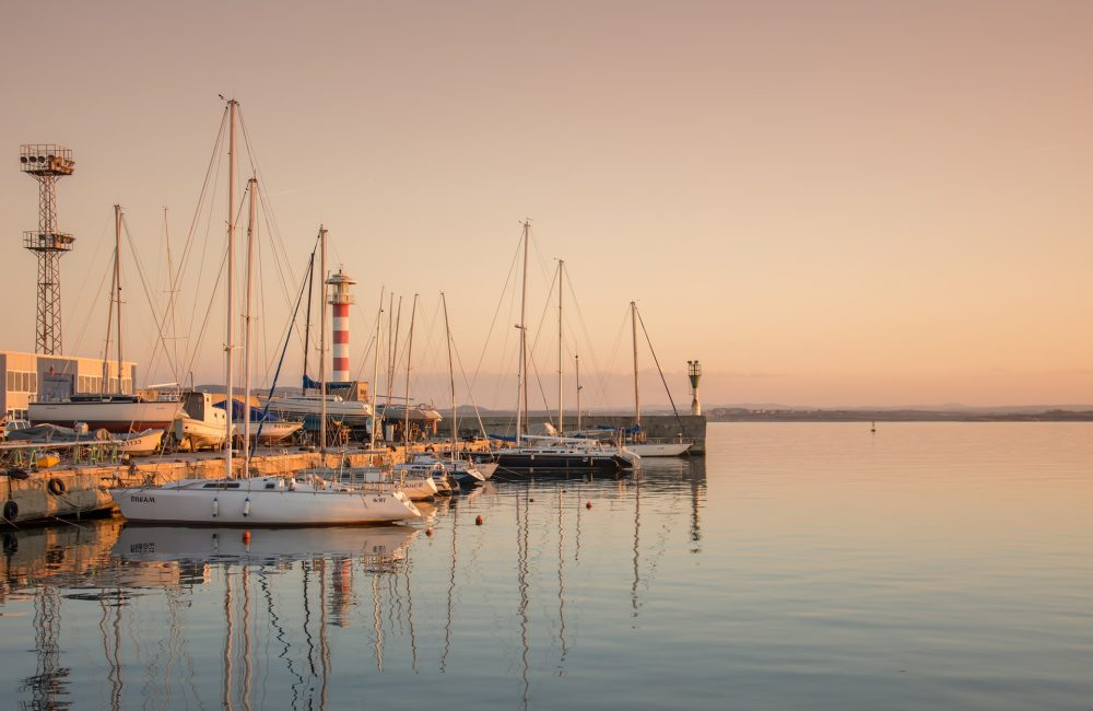 Закаты на яхте с Jazz Yachting