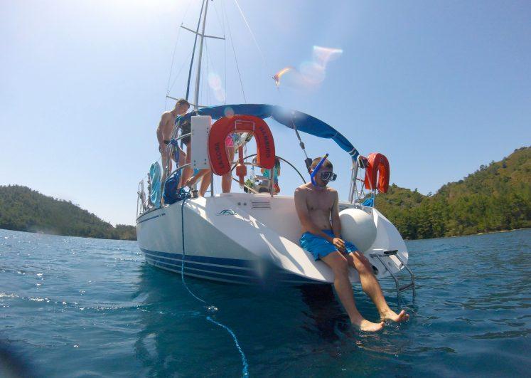 Не прыгать без предупреждения – Jazz yachting