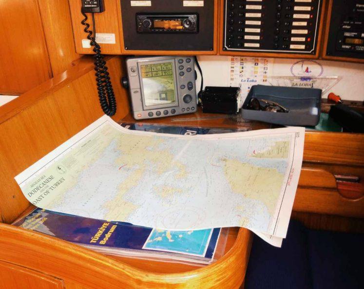 Шкиперский стол – Jazz Yachting